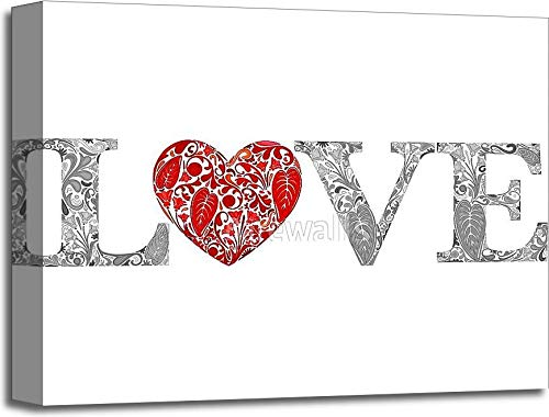 LoveギャラリーWrappedキャンバスアート 16in. x 20in. B075CDYK7R  16in. x 20in.