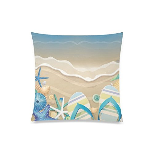 Estrella de mar Verano Flip Flop de playa Rectángulo sofá ...