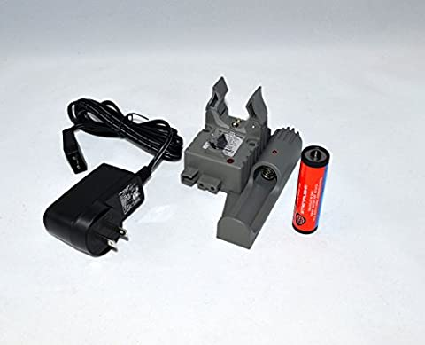Streamlight Strion USB PiggyBack Charger Base 74115 + Spare Battery + AC Cord