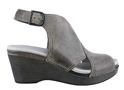 Dansko Womens Vanda Ankle Bootie  Stone Distressed  39 Eu 8 5 9 M Us