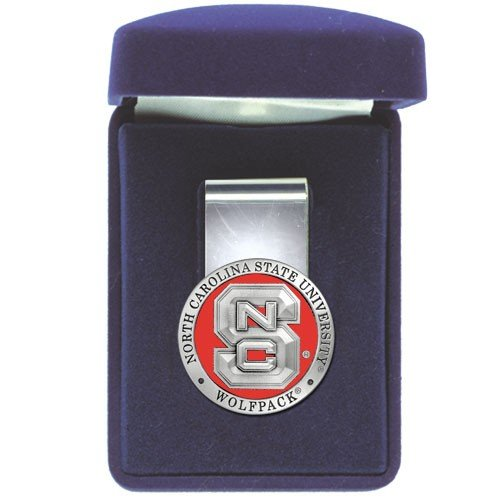 Heritage Pewter N.C. State Wolfpack Money Clip ()