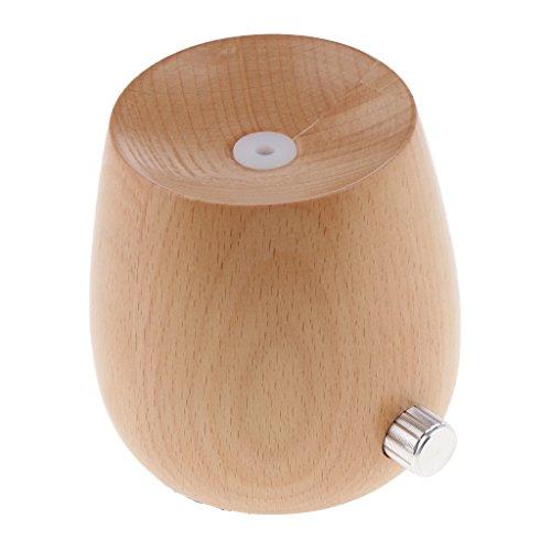 Blesiya US Plug Mini Portable USB Humidifier Air Diffuser Aroma Mist Maker Home,Spa - Light Wood by Blesiya (Image #3)