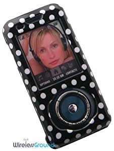 Samsung Highnote M630 Phone Protector Case with Optional Belt Clip - Polka Dots