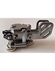 Mini CW Key Automatic Morse - Radio HAM Send Telegram Double Paddle Morse Code Key with Stainless Steel Body Three Neodymium Magnets Base