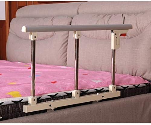 GWM 高齢者のための折り畳み式ベッド鉄道安全サイドガード、大人はハンディキャップベッド手すり病院メタルグリップバンパーバーハンドルアシスト