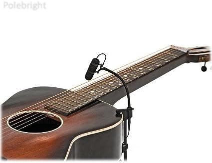 Micrófonos D: voto 4099 G extensiones de clip micrófono para guitarras con XLR adaptador – polebright actualización: Amazon.es: Instrumentos musicales