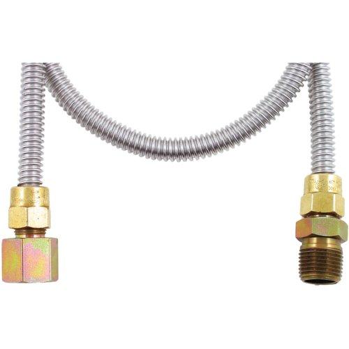 Dormont 20-3132-48B Gas Dryer 1/2-Inch Diameter Connector, 48-Inch Length