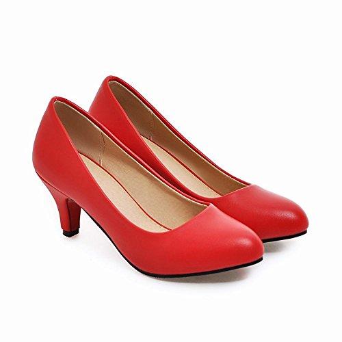 Talons MissSaSa Petit Rouge Escarpins Femmes 11FaE