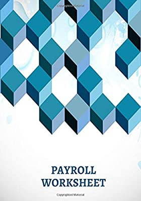 """Payroll Record Book: Payroll Accounts and Bookkeeping Record Book Notebook Journal for Work Employers HR and Financial Accounting  7/""""x10/"""". Co-Workers Colleagues"""