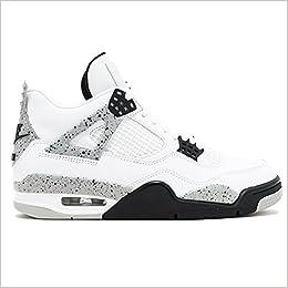 55cd262fe5b JACKWOLDMIN Athletic Sport Basketball Running Sneaker AIR JORDAN 4 RETRO OG  WHITE CEMENT 2016 RELEASE Men's Casual Shoe: Amazon.com: Books