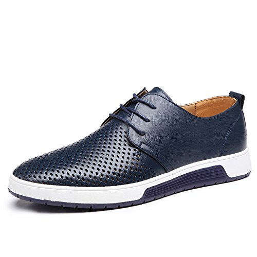 Dewuseller, Low-Top Uomo, Blu (Blu), 45 EU