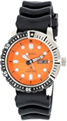 Seiko SRP589K1 Diver Automatic Mens Watch - Orange Dial