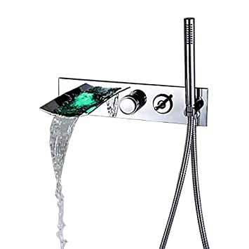 Conjunto de mandos para ducha Jia You Jia con grifo en ...