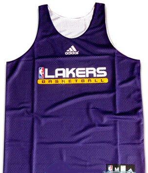 Amazon.com   Los Angeles Lakers NBA Practice Warm Up Reversible ... d1c40456a