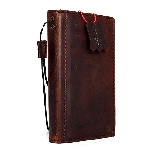 Genuine full Leather Case fit for Microsof lumia 950 Book Wallet Handmade Cover Retro Style Id DavisCase