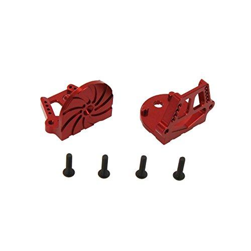 - Atomik RC Traxxas X-Maxx Alloy F/R Motor Mount Set, Red TRX 7760