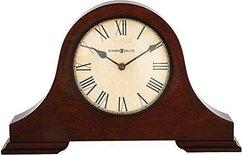 Howard Miller Humphrey Mantel Clock 635-143 - Hampton Cherry Wood with Quartz Movement