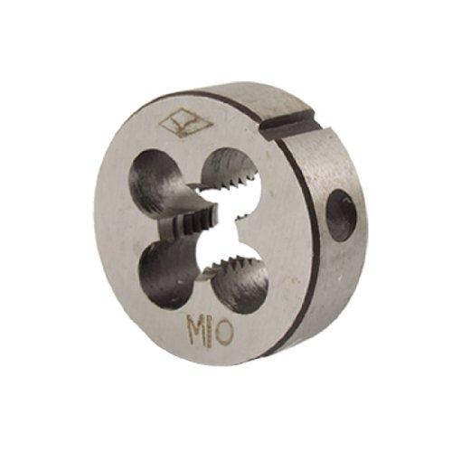 X-Dr 1.5mm Pitch M10 Coarse Thread Cutting Tool Round Die Gray (52fe9324-a222-11e9-8d7c-4cedfbbbda4e)