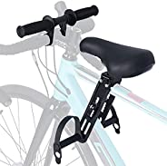 SWAUSWAUK Kids Bike Seat with Handlebar Attachment, Bike Accessories for Adult Bikes, Front Mounted Bicycle Se