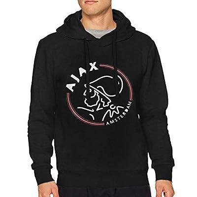 SherryELynch AFC Ajax Amsterdam Club Men's Music Long Sleeve Hooded Sweatshirt