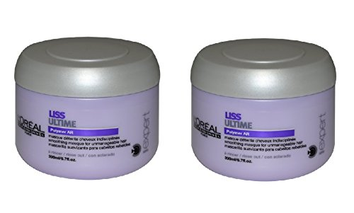 Loreal Series Expert Liss Ultime Masque, 6.7-Ounce Jar (Set of 2)