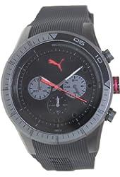 Men's Black Puma Fast Track Chronograph Watch PU102821003