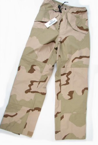 3 Color Desert Camo Pants - 3