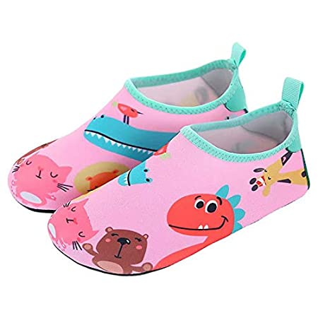 MILASIA Niños Niña Zapatos de Agua Descalzo Barefoot ...