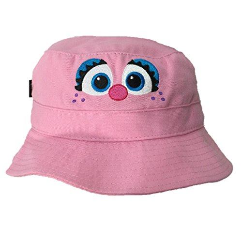 Sesame Street Abby Cadabby Pink Toddler Bucket Cap UPF 50+ Sun Hat Coppertone]()