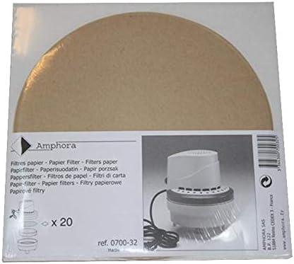 Papel de filtro para aspirador de ceniza con motor: Amazon.es: Hogar