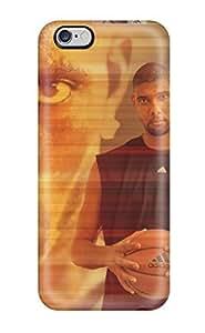 High Quality CSuDuNn2377NrAQD Tim Duncan Tpu Case For Iphone 6 Plus(3D PC Soft Case)