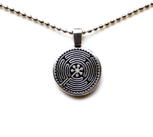 Quality Handcrafts Guaranteed Celtic Labyrinth Statement Pendant (Labyrinth Costume Family)