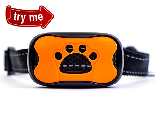 Safe Vibration Dog Bark Control Collar for Small and Medium Dogs to Stop Your Pet Uncontrolled Barking with Simple and Most Humane Anti-Bark No Shock Training Tool!