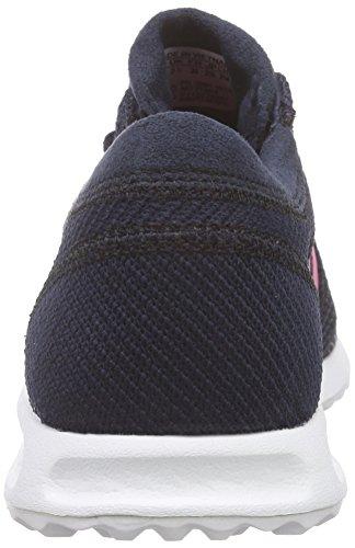 adidas Originals Los Angeles, Zapatillas para Niños- Niñas Negro (Legend Ink S10/Spring Pink S16-St/Ftwr White)