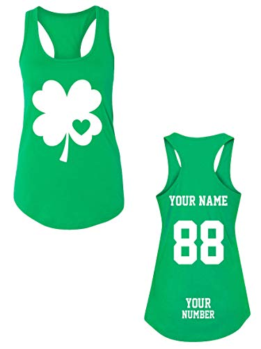 Custom Jerseys St Patrick's Day Tank Tops - Saint Pattys Irish ()