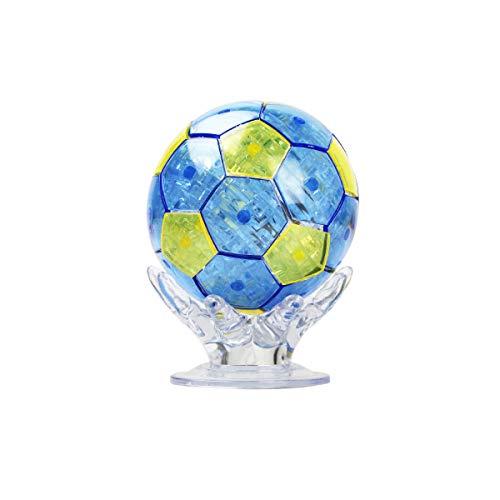 (Coolplay DIY 3D Jigsaw Crystal Puzzle - Soccer Ball)