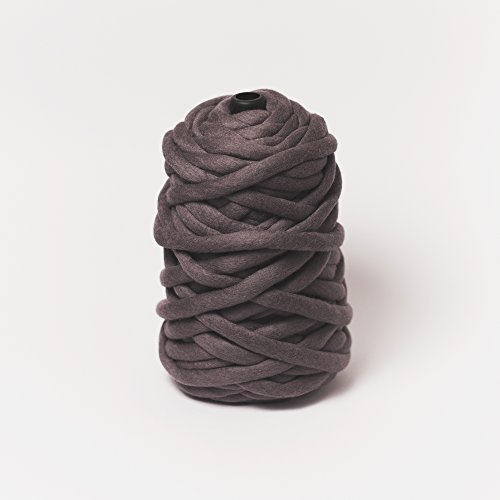 Chunky Merino Wool Yarn for Arm Knitting by Plump & Co (2.2 lb) Made in New Zealand, Premium Grade for Blankets, Throws, Rugs - 1 ply, Midnight