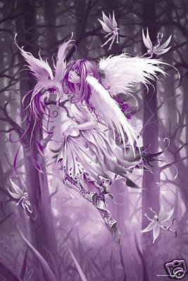 Fairies Poster Angel fairy Rare Hot New