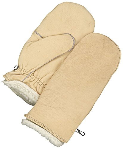 Bob Dale Gloves 509227L Grain Leather Mitt Pullover W//Pullout Pile Liner,