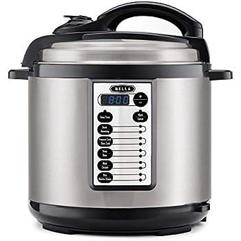 Amazon.com: BELLA (14595) 8 Quart Pressure Cooker