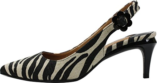 J.renee Womens Pearla Dress Pump Natural / Black