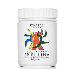 Synergy Natural Organic Spirulina Powder, 200g
