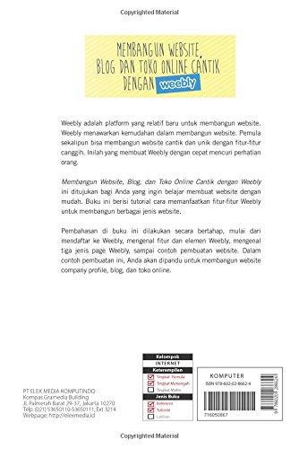 Membangun Website Blog Dan Toko Online Cantik Dengan Weebly Indonesian Edition Krisianto Andy 9786020286624 Amazon Com Books