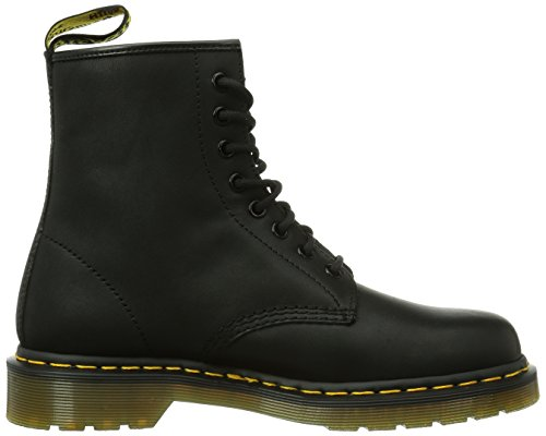 Dr. Martens Mens 1460 8 Eye Combat Boot Black Greasy MJxYiVC