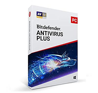 Bitdefender Antivirus Plus | 3PC | 1 Year [Key Code]