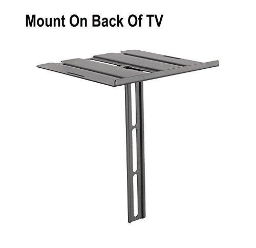 MountPlus DVD-31 Dual-Use DVD Shelf Mount For DVD players, AV Receivers, Cable Boxes, Speakers and Audio or Video Equipment (On the Wall Or Back of TV) (Mount Racks Av Wall)