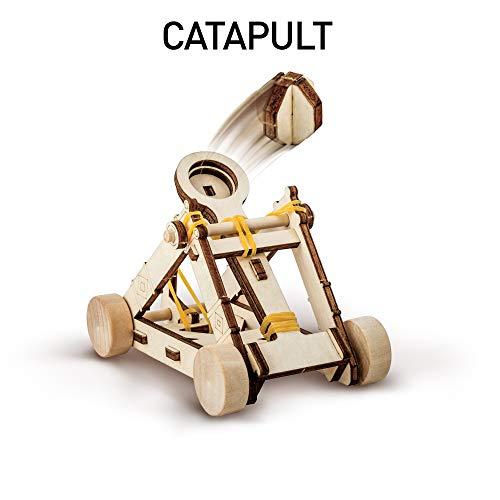 41qQCR9ympL - NATIONAL GEOGRAPHIC - Da Vinci's DIY Science & Engineering Construction Kit - Build Three Functioning Wooden Models: Catapult, Bombard & Ballista