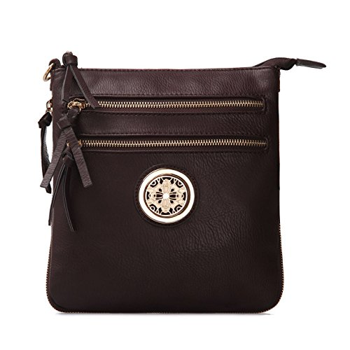 Purse Purse for Crossbody Zip top Crossbody Bag Crossbody Adjustable Pocket Multiple Purse Crossbody Crossbody Bag Shoulder Strap Closure Coffee Woman Bag with Crossbody EFwFqZ8