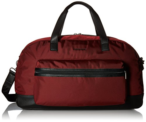 Armani Jeans Men's Canvas Weekend Duffle Bag, (Armani Shoulder Bag)