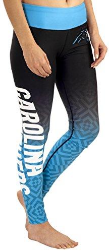 Carolina Panthers Gradient Print Legging - Womens Medium